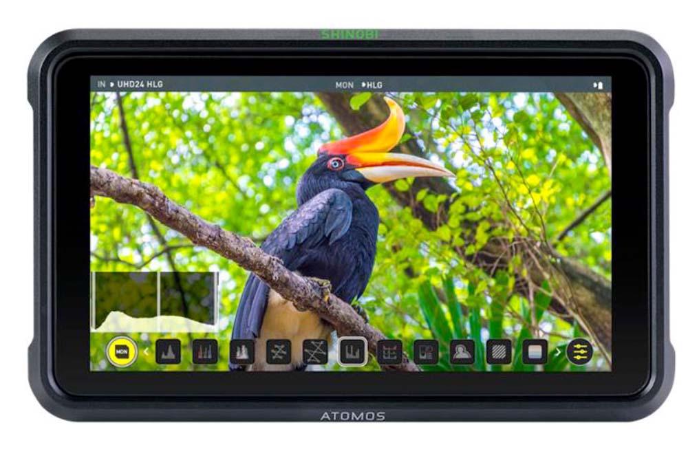ATOMOS (アトモス)、レコーダー機能を省いた5.2インチHDR対応フィールドモニター『SHINOBI』を3月5日に発売