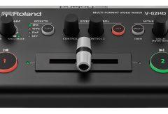 ローランド、マルチフォーマット・ビデオ・ミキサー『V-02HD』のシステム・プログラム Ver.1.02 にアップデート