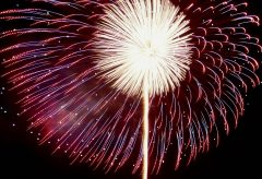 【Views】『高崎花火大会2018 Hasegawa』5分46秒〜盛大かつ華麗でありながらその姿を刻々と変えていく花火を新手の手法で描きあげる