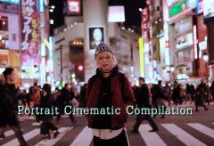 【Views】『Portrait Cinematic Compilation』3分7秒〜交差し、また新たな何かを生み出しそうなポートレートムービーコンピレーション