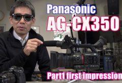 ビデオサロン2019年4月号連動 パナソニックAG-CX350レポート関連動画(更新中)