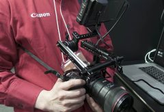 【CP+2019】キヤノンEOS RはNINJA Vと可変NDマウントアダプタでムービーカメラになる