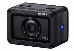 ソニー、4K/30p動画の本体内記録に対応したサイバーショット『RX0 II』を発表