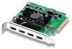 ブラックマジックデザイン、『DeckLink Quad HDMI Recorder』の発売と、Desktop Video 11.0、Blackmagic Duplicator 4K 1.2のアップデートを発表