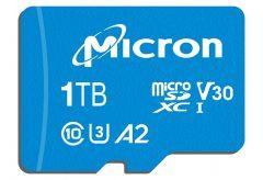 マイクロン、世界最大容量の1TB microSDカード『 Micron c200 1TB microSDXC UHS-Iカード』を発表