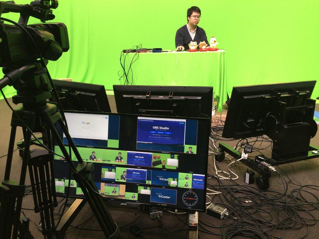 ライブ配信を勉強しながら、チュートリアル動画を収録しました