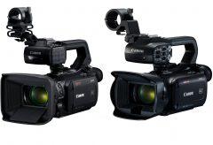 キヤノン、業務用ビデオカメラ「XA」シリーズ初の4K対応『XA55』『XA40』を発表。4K/30pモデルにして価格を抑えた。