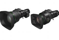 キヤノン、4Kカメラ対応ポータブルズームレンズ『CJ18e×28B』『CJ15e×8.5B』を発表