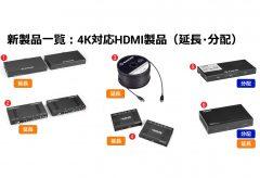 ブラックボックス・ネットワークサービス、4K 映像を延長・分配する 6 製品を発売