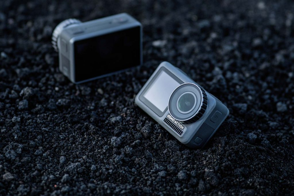 DJI、4K/HDR動画対応のアクションカメラ『Osmo Action』を発売