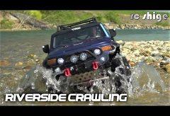【Views】『RIVERSIDE CRAWLING』2分43秒〜河原にラジコンカーを引っさげて今日もリアルなオフロード・クルージングを狙う