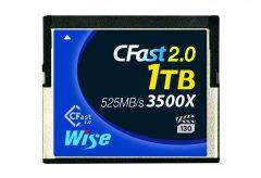 アミュレット、4Kビデオ収録に対応したCFast 2.0 メモリーカード新製品『Wise CFast 2.0 メモリーカード 1TB』を発表