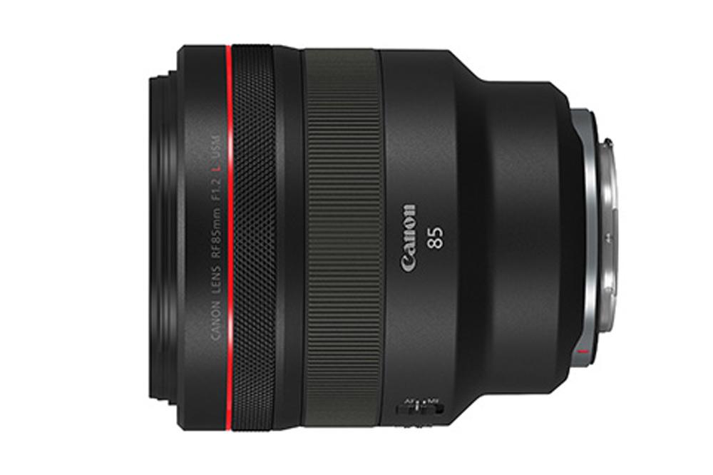 キヤノン、「EOS R」シリーズ用のRF レンズ『RF85mm F1.2 L USM』の発売日が決定。「RFレンズ」技術紹介動画も公開