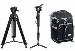 浅沼商会、「PERSPECTIVE」ブランドの三脚・一脚・カメラバックパックを発売