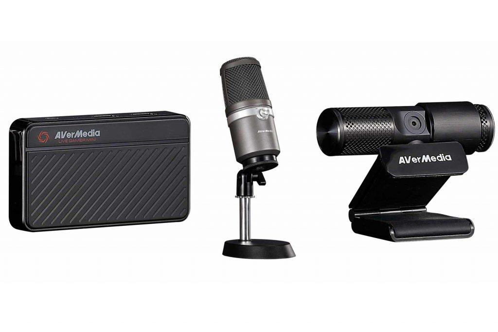 アバーメディア・テクノロジーズ、USBゲームキャプチャー、USBマイク、Webカメラがひとつのパッケージになった『LIVE STREAMER 311』を発表
