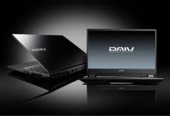 """マウスコンピューター、""""DAIV""""の4K-UHD 有機EL パネル採用した15.6型ノートパソコン「DAIV-NG5820」シリーズを発売"""