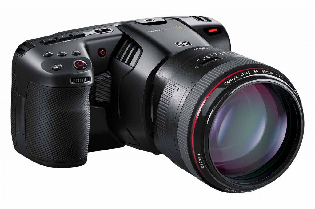 ブラックマジックデザイン、スーパー35センサー搭載の『Blackmagic Pocket Cinema Camera 6K』を発表。6144×2560 2.4:1および5744×3024 17:9で60fpsで撮影できる!