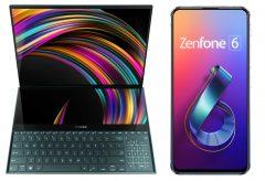 ASUS、ScreenPadを搭載した次世代ノート PC『ASUS ZenBook シリーズ』とフリップカメラを搭載したスマートフォン『ZenFone 6』を発表