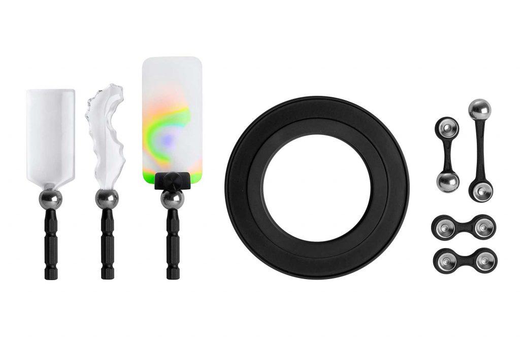 ケンコー・トキナー、Lensbaby社の前ボケ効果を作り上げるエフェクトワンドを磁力でレンズに装着する『OMNI クリエイティブフィルターシステム』を発表