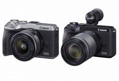 キヤノン、約3250 万画素の解像力の小型・軽量のミラーレスカメラ『EOS M6 Mark II』を発表。キャッシュバックキャンペーンも実施