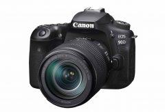 キヤノン、高速連写と高画質を両立したAPS-Cデジタル一眼レフカメラ『EOS 90D』を発表