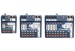 ヒビノ、Soundcraft(サウンドクラフト)のアナログ・ミキサー「Notepad Series」3機種を発表