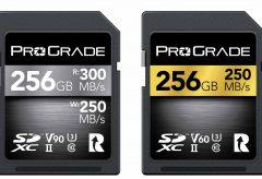 プログレードデジタル、最高転送速度300MB/秒 「SDXC UHS-II」を日本で先行発売