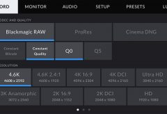 ブラックマジックデザイン、Blackmagic RAW 1.5のソフトウェアアップデートを発表
