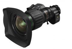 キヤノン、4K放送用カメラ対応ポータブルズームレンズ『CJ15e×4.3B』を発表