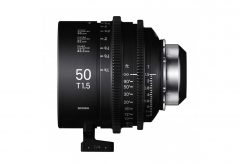 シグマ、SIGMA CINE LENSのFF High Speed Prime Lineから「/i Technology」対応PLマウント発表