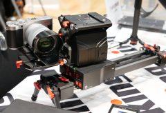 【Photo EDGE Tokyo2019】浅沼商会ブース、電動スライダーShark Slider Mini 600 PRO、アナログスタビライザーのWild Cat IIIなどを展示
