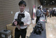 【Photo EDGE Tokyo2019】キヤノンブースにはEOS C500 MarkⅡをはじめ、新発売のRFレンズも展示