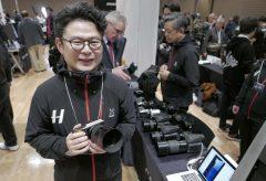 【Photo EDGE Tokyo2019】ハッセルブラッドブース、中判デジタルX1D II 50CとデジタルバックCVF II 50Cを展示