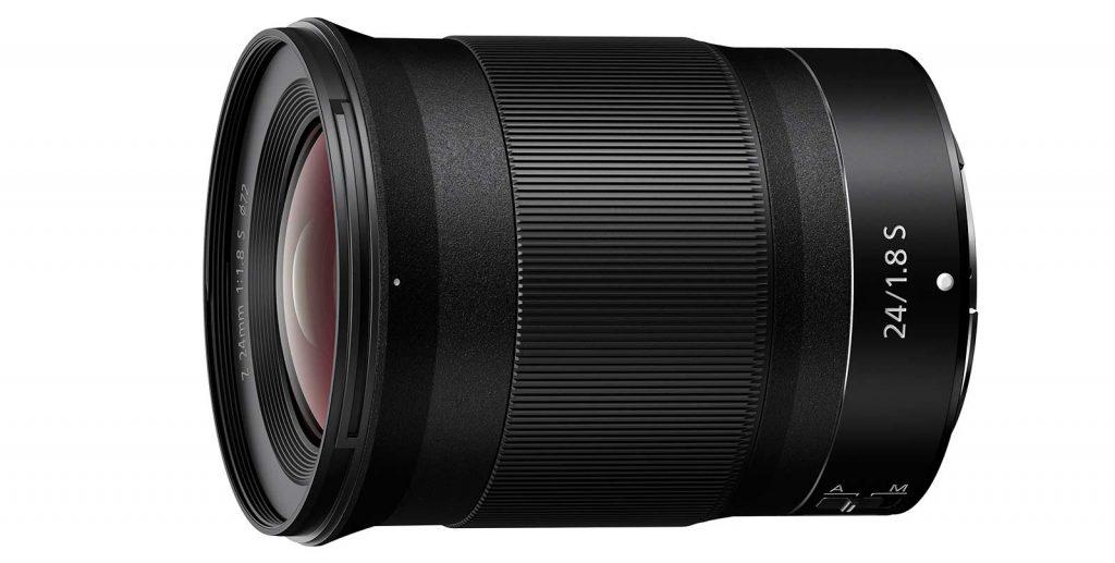 ニコン、 Z マウントシステム対応の大口径広角単焦点レンズ 『NIKKOR Z 24mm f/1.8 S』を発売