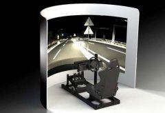 JVCケンウッド、「D-ILA」プロジェクターによるシリンドリカル・ディスプレイシステムを開発