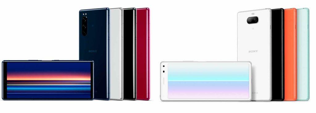 ソニー、アスペクト比21:9のスマートフォン『Xperia 5』と『Xperia 8』の2機種をKDDIより発売