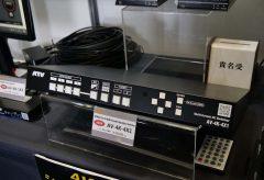 【Inter BEE 2019】ATV、4K時代の映像配信に対応する低価格スイッチャー&コンバーター