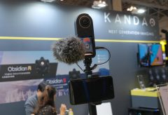 【Inter BEE 2019】8Kの360度カメラを発表したばかりのKANDAO