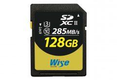 アミュレット、4K/8Kビデオ収録向け SDXC メモリーカード『Wise SDXC UHS-II メモリーカード』を出荷開始