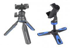 ケンコー・トキナー、SLIK社のカメラ・スマホを取り付けできる小型三脚を発売