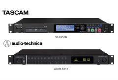ティアック、タスカムとオーディオテクニカのレコーダーとミキサー連携による会議録音システムの共同開発を発表