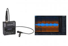 ティアック、TASCAMのピンマイクレコーダー『TASCAM DR-10L』に音声編集ソフト『RX 7 Elements』のバンドルを追加