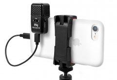 フォーカルポイント、IK Multimedia社のポケットサイズで高音質な動画・音声を収録できるマイク『iRig Mic Cast HD』