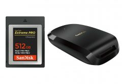 ウエスタンデジタル、4K動画など高速・大容量のニーズに対応した『サンディスク エクトリーム プロ CFexpress Type B カード』と『サンディスク エクストリーム プロ CFexpress カードリーダー』を発売