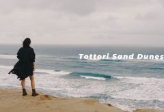 【Views】845『Tottori Sand Dunes』1分4秒〜日本海の波と女性たちで砂丘の美学が展開される