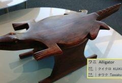 【Views】866-b『ブラジル先住民の椅子』4分〜魚や動物など生き物を模したその個性的な椅子たちは時を越えて何かを訴えているよう