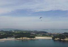 【Views】872『松島絶景パラグライダー体験』4分54秒〜空の雄大な映像でしばし時間&空間を楽しませてくれる