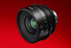 キヤノン、Sumire Primeシリーズ『CN-E20mm T1.5 FP X』を発売し、7種類全ラインナップが揃った。