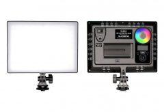 LPL、RGBフルカラー光で撮影現場の雰囲気を変えて撮影できるLEDライト『VL-8350FXP』