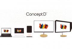 日本エイサー、クリエイター向け新ブランド「ConceptD」を発表。デスクトップPC、ノートPC、モニター5製品をラインアップ